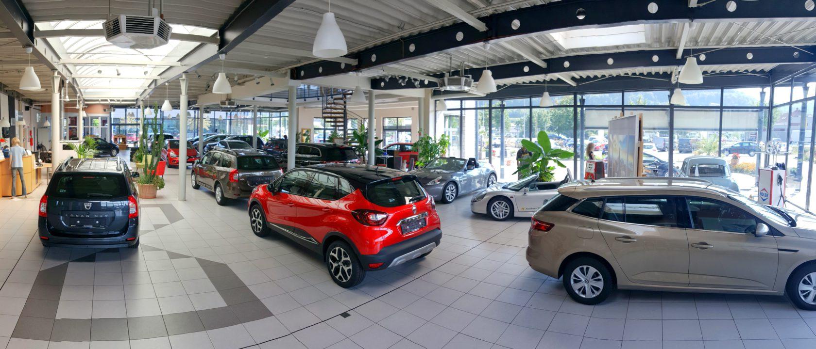 Ein Einblick ins Autohaus